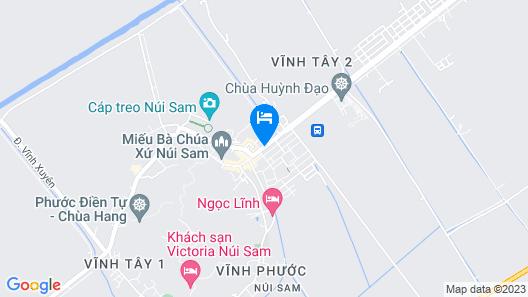 Minh Trang Motel Map