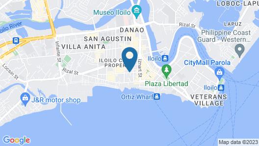 GT Hotel Iloilo Map