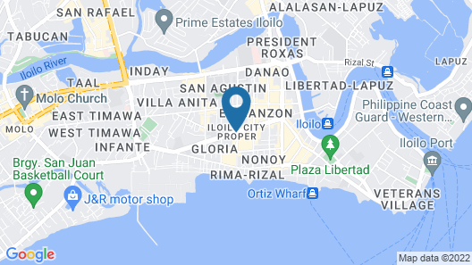 Go Hotels Iloilo Map