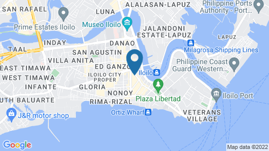 Spaces by EcoHotel Iloilo Map