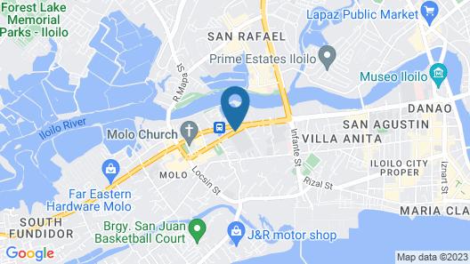 Urban Sands Iloilo Hotel Map
