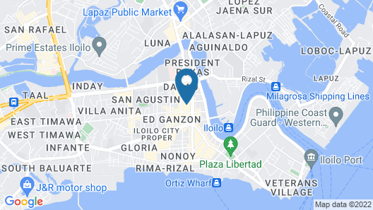 Citadines Amigo Iloilo Map