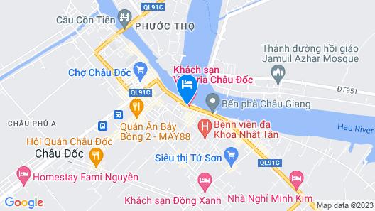Victoria Chau Doc Hotel Map
