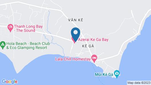 Azerai Ke Ga Bay Map