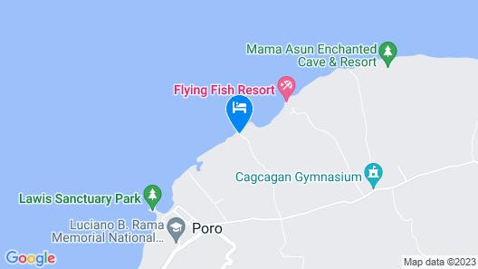 Camotes Flying Fish Resort Map