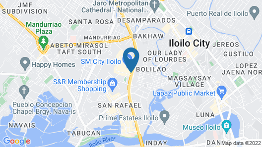 Park Inn by Radisson Iloilo Map