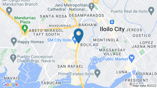 Injap Tower Hotel Map