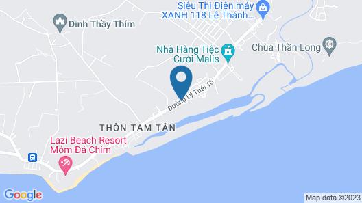 Dat Lanh Resort Map