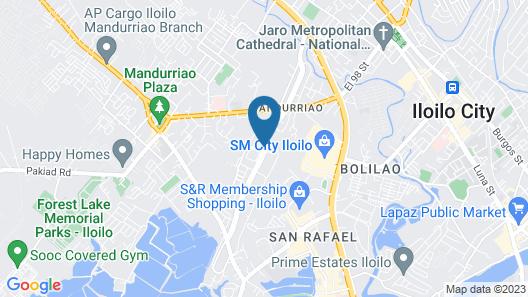 Richmonde Hotel Iloilo Map