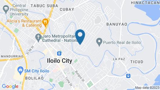 RedDoorz @ Ledesco Avenue Lapaz Iloilo Map