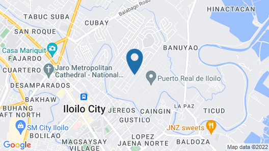 RedDoorz Plus @Yeesort Lapaz Iloilo City Map