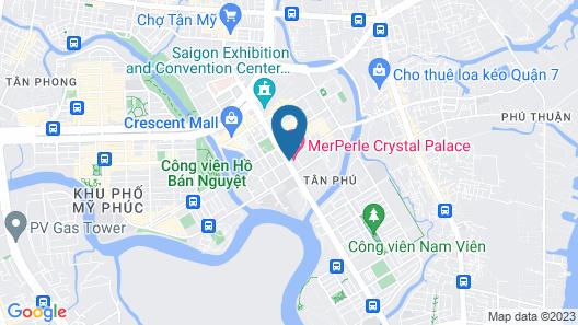 MerPerle Crystal Palace Hotel Map