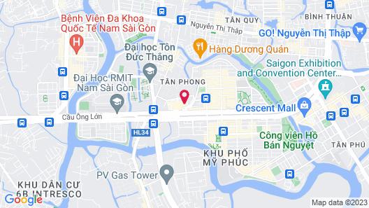 Oakwood Residence Saigon Map