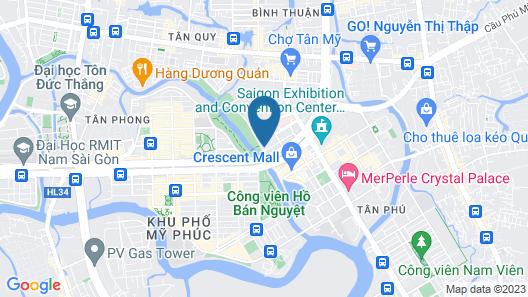 Scenic Valley Vietnam - Vina We Stay Map