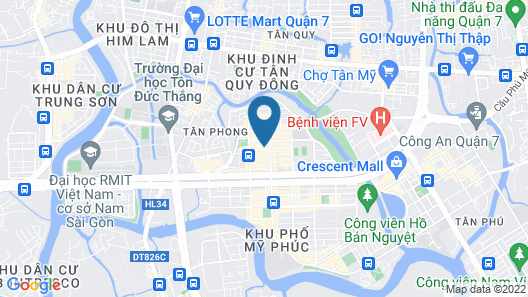 Song Hung Hotel & Serviced Apartments Map