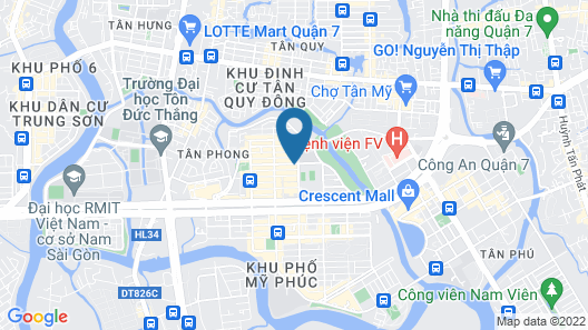 Sunshine Boutique Hotel Phu My Hung Map