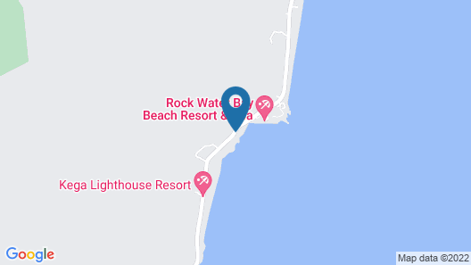 Rock Water Bay Beach Resort & Spa Map