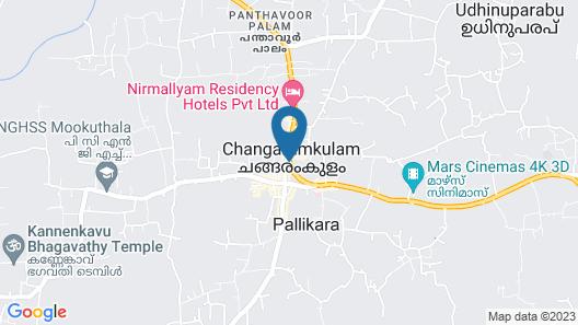 Hotel Nirmallyam Residency Map