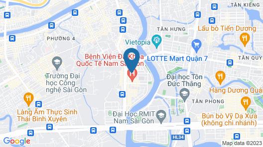 OYO 701 Avatar 2 Hotel Map