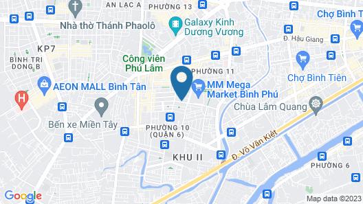 Aiden Saigon Hotel Map