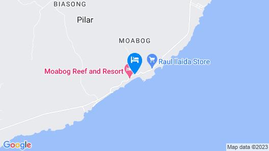 Moabog Reef & Resort Map