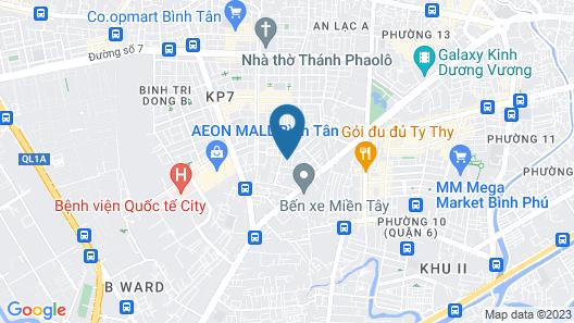 Nhu Y Hotel Map