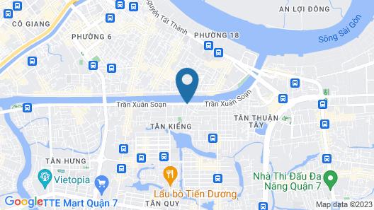 OYO 992 Song Ba Hotel Map