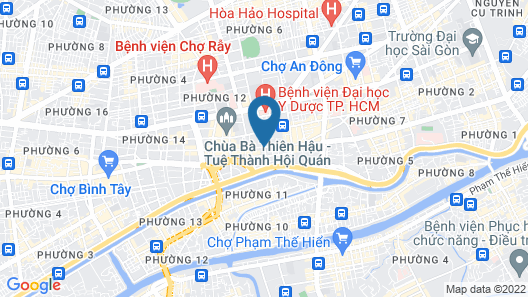 Arc En Ciel Hotel Map
