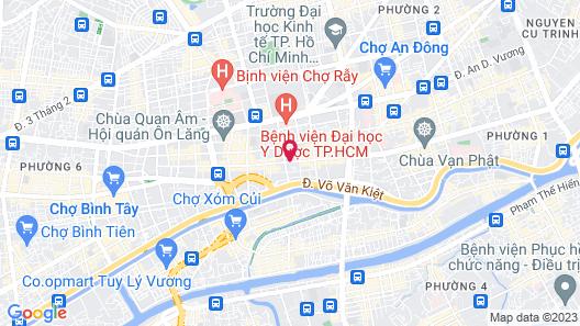 Bat Dat Hotel Map