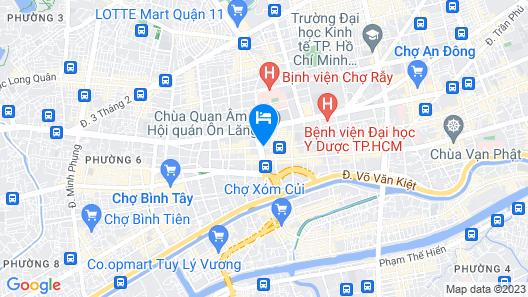 Trung Mai Hotel Map