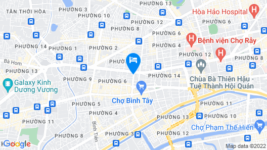 Tan Cuu Long Hotel Map