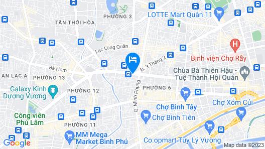 OYO 220 Gia Huyen Map