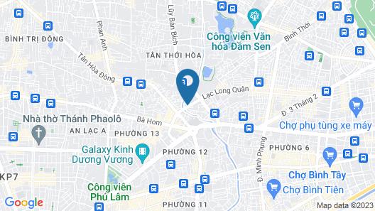Ba Dat Homestay Q6 Map
