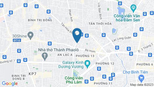 OYO 935 Phuong Nam Hotel Map