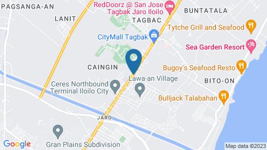 Northview Inn Map