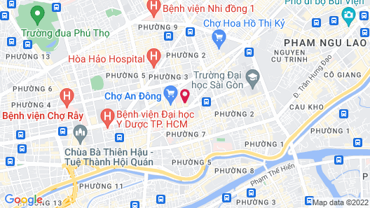 Zazz Urban Ho Chi Minh Hotel Map