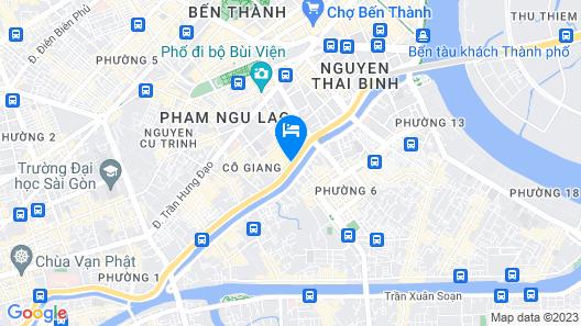 Sunland Hotel Map