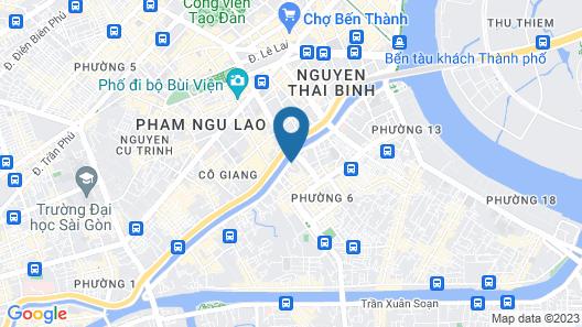 Saigon Sirius Map