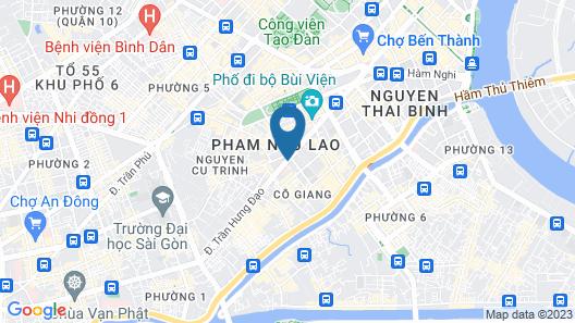 Pullman Saigon Centre Map