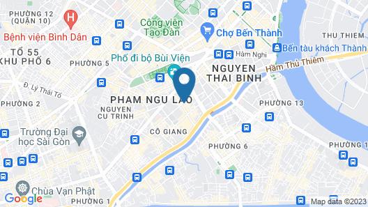 Grandma Lu - Banh Mi Coffee & Hostel Map