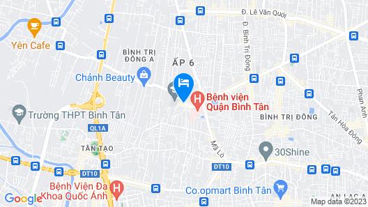 OYO 414 Saigon Home Map