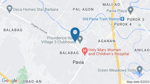 Blue House in Iloilo Map