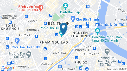 HoLo Bui Vien Saigon Serviced Homestay Map