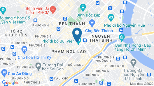 Me Gustas Downtown Hotel (Formerly Dragon Palace 3 Hotel) Map