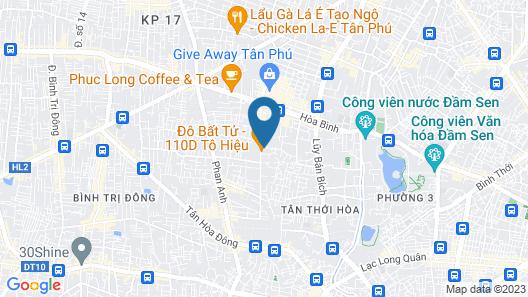 OYO 816 Ht Love Hotel Map