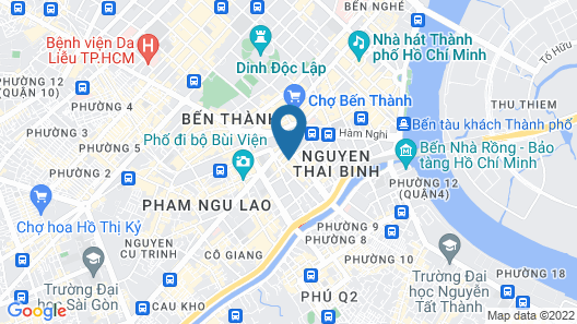 Ben Thanh Boutique Hotel Map