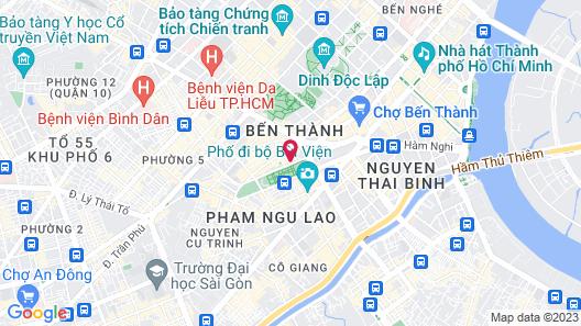 Park View Saigon Hotel Map