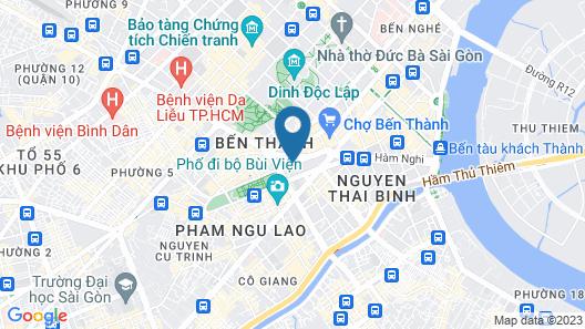 New World Saigon Hotel Map