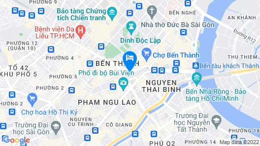 New World Saigon Hotel Map