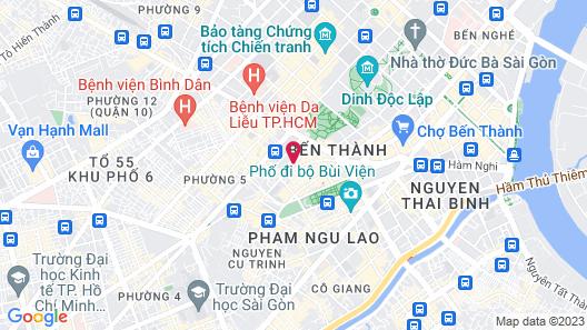 Queen Ann Hotel Map